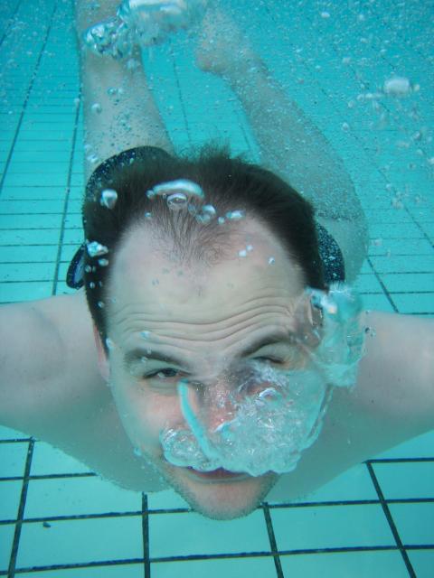 Фото сделанное подводным фотоаппаратом