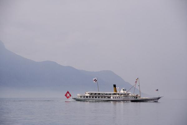 Swiss boat